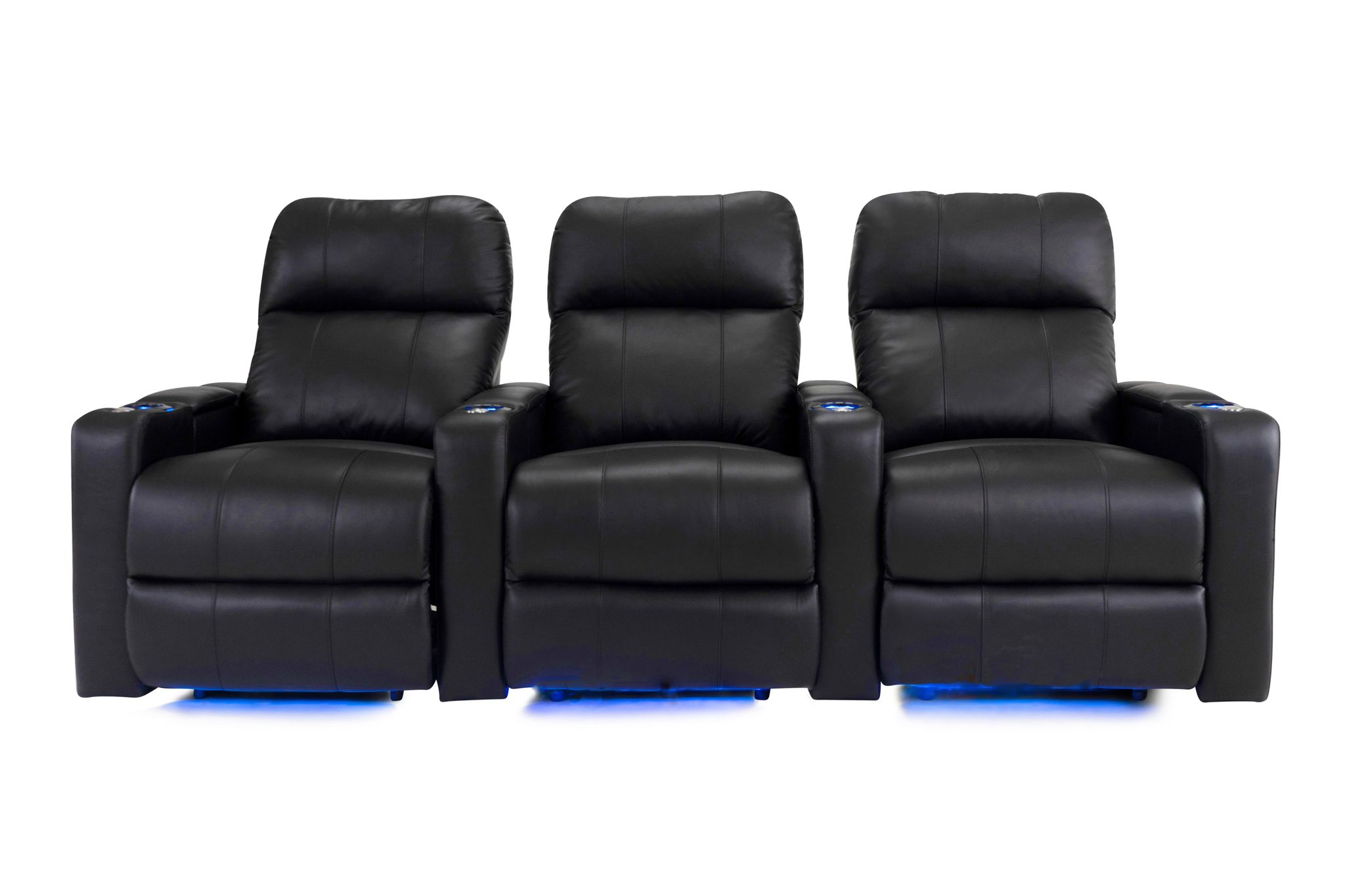 3 Chair Straight Row