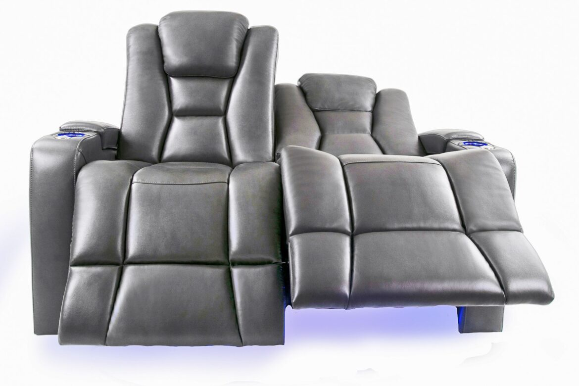 Home Theater Seating Love Seat Chair